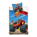 wholesale Bed sheets and blankets: Blaze and the Monster Machines ovis bed linen ( Bl
