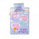 Peppa Pig Ropa de cama de 100x135 cm