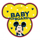 Mickey baby mouse on board sign