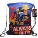 mayorista Material escolar: Fireman Sam bolsa de gimnasio