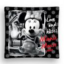 mayorista Ropa de cama y Mantas: Funda de cojín Minnie mouse (blanco y negro)