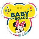 ingrosso Automobili: Minnie bambino del mouse sul bordo del segno