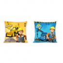 Bob the Builder machine cushion cover