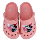 Minnie mouse girl slippers (peach)