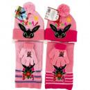 ingrosso Prodotti con Licenza (Licensing): Set -cappello-sciarpa guanti Bing (rosa)