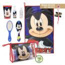 Großhandel Schulbedarf: Mickey Maus Reinheitspaket, Reiseset
