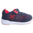 Bébi sportcipő (sötétkék-piros)