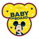 wholesale Car accessories: Mickey mouse Baby on board board