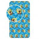 nagyker Ágyneműk és matracok:SpongeBob gumis lepedő
