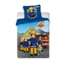 Fireman Sam beddengoed 100x135 cm
