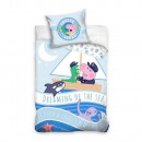 Peppa Pig ovis bedding (small boat)