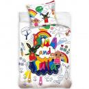 Bing ovis biancheria da letto (arcobaleno)