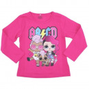 Großhandel Lizenzartikel: LOL Mädchen Langarm T-Shirt (s.pink AB / CD)