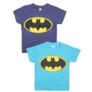 Batman camiseta de manga corta para niño (azul)