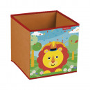 Fisher Price Toy Storage (Cube) Lion