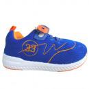 Bébi sportcipő (kék-narancs)