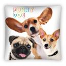 Großhandel Kissen & Decken:Funny Dog Kissenbezug