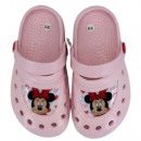 Minnie Mouse Girl Slippers (Pink)