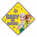 frozen baby on board board