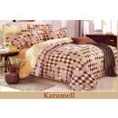 wholesale Bedlinen & Mattresses: coton - satin bedding (Karamell)