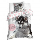 wholesale Bedlinen & Mattresses: Husky Kitten Bedding (Cute)