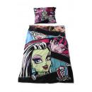 Großhandel Lizenzartikel: Monster High Bettwäsche 140x200 70x90