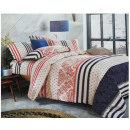 wholesale Cushions & Blankets: coton - satin bedding (Happy)