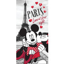 grossiste Articles sous Licence: Serviette Minnie & Mickey