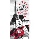Minnie+Mickey törölköző