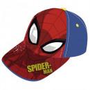 Großhandel Schals, Mützen & Handschuhe: Spiderman Baseballmütze (Gesicht)