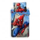 Spider-Man bedding (city)