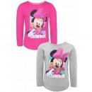 Großhandel Lizenzartikel: Minnie Maus Mädchen im Langarm T-Shirt