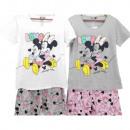 mayorista Pijamas: Minnie niña ratón con mangas cortas piyama (amor)