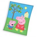 mayorista Artículos para el hogar: Peppa Pig polar Manta (Peppa y Jolie)