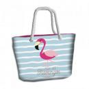 Torba plażowa Flamingo
