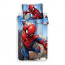 Spider-Man bedding (skyscraper)