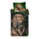 mayorista Artículos de regalo: Ropa de cama de leopardo (verde)