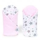 Minky star bandage (pink)