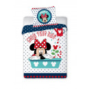 Großhandel Bettwäsche & Decken: Minnie Mouse Bettwäsche 100x135 40x60