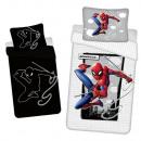 mayorista Artículos con licencia: Ropa de cama fosforescente de Spider-Man (Ciudad)
