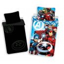 wholesale Bed sheets and blankets: Phosphorescent Avengers Bedding 140x200 70x90