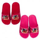 hurtownia Fashion & Moda: Kapcie Bing Girl (czerwone, różowe)