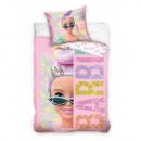 groothandel Licentie artikelen: Barbie beddengoed (lovertjes)