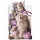 groothandel Bedtextiel & matrassen: Kitten beddengoed (goede nacht)
