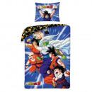 Biancheria da letto di Dragon Ball (blu)