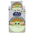 Star Wars bedding (Baby Yoda)