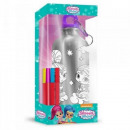 wholesale Houseware: Shimmer and Shine colorable aluminum bottle