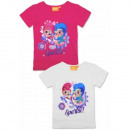 Shimmer and Shine chica en camiseta de manga corta
