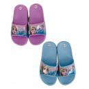groothandel Licentie artikelen: frozen meisje in pantoffels (paars, blauw)