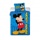Mickey mouse ovis bedding ( Mickey blue)